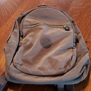 Charcoal Kipling Backpack